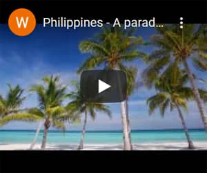 Philippines, a paradise of 7,107 islands.