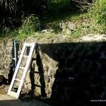 The Ladder (A broken cottage window)