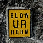 Blow UR Horn Sign