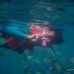 Wayne Snorkeling at Siete Pecados