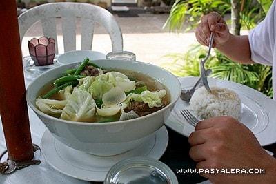 Coron Village Cafe - Special Bulalo