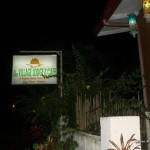 Coron Village Lodge Signage