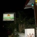 Coron Village Lodge Signage