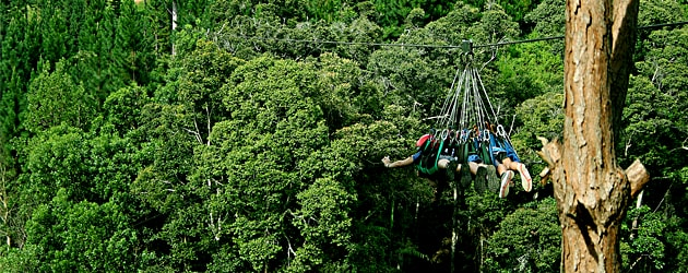 this is Experience Zip Line at Camp Sabros, Davao Del Sur
