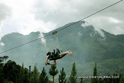 400-meter Zip Line at Camp Sabros