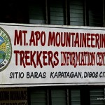Mt. Apo Mountaineering/Trekkers Information Center (Checkpoint Area)