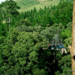 Tandem Ride on 380-meter Zip Line