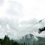 Solo Ride on 400-meter Zip Line