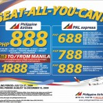 Philippine Airlines' Seat-All-You-Can Promo III
