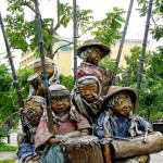 Large Sculptures by Kublai Millan