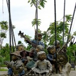 Large Sculptures by Kublai Millan