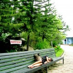 Long Bench at Davao People's Park