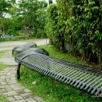 Bench at Davao People's Park