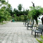 Benches at Davao People's Park