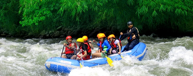 this is White Water Rafting in Davao