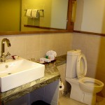 Amorita Resort - Deluxe Room Toilet