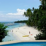 View of Alona White Beach from Amorita Resort
