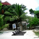 Amorita Resort Entrance from Alona White Beach