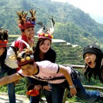 Group Pic at Banaue Rice Terraces