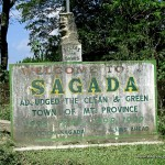 Sagada Welcome Signage