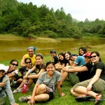 Group Pic at Lake Danum in Sagada