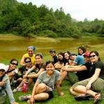 Group Pic at Lake Danum in Sagada