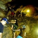 Leaving Sumaging Cave