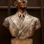 Statue of Manuel L. Quezon at Museo de Baler