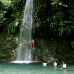 Cunayan Falls in Baler, Aurora