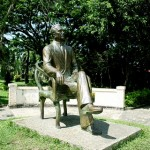 Statue of Manuel L. Quezon at the Quezon Park