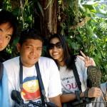 With GMA-7's Cameraman