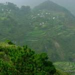 Rice terraces at Kiltepan Viewpoint