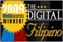 Pasyalera wins Best Travel Website in 3rd DigitalFilipino Web Awards (2009)